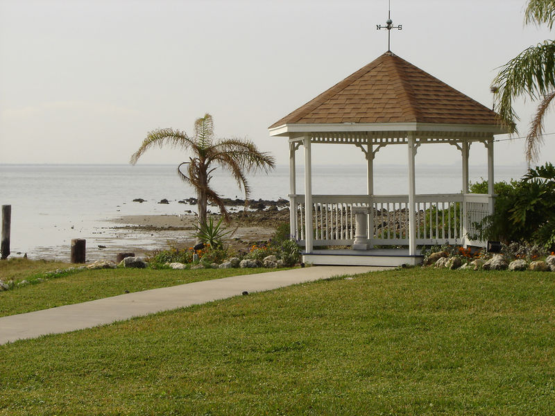 This is the pavilion in front of which our wedding ceremony will be held.