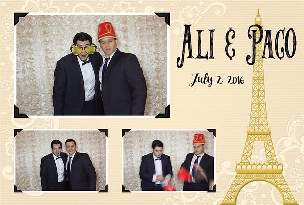 Ali & Paco Wedding