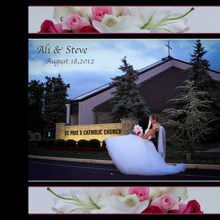 Ali and Steve Wed Album