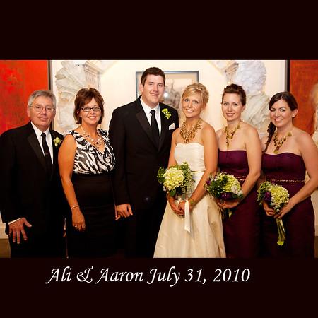 Ali & Aaron Wedding