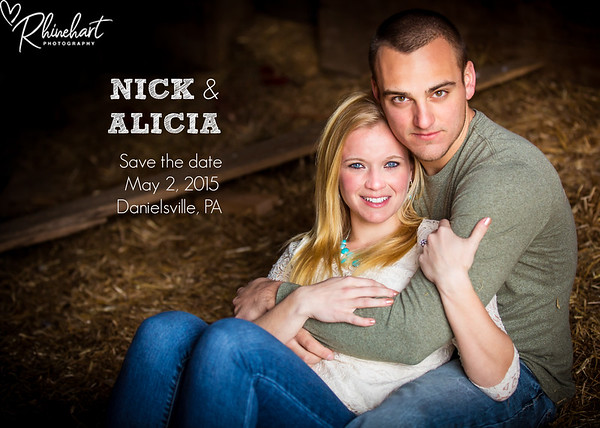 Alicia & Nick: Save the Date
