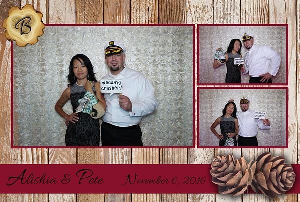 Alishia & Pete Wedding 11-06-2016