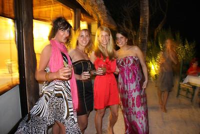 Vanessa, Sandra, Alissa and Semira