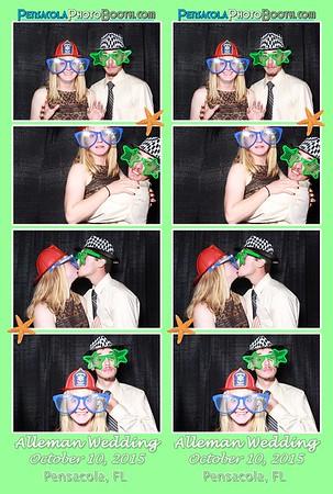 Alleman Wedding 10-10-205