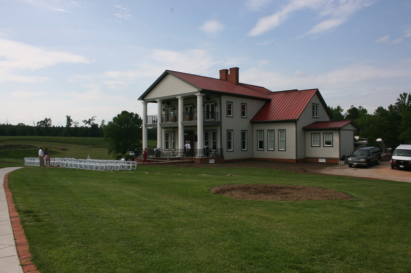 Rosemont Winery in LaCrosse, VA.  A great place for a wedding.