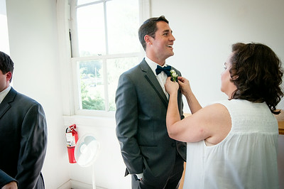 Allison and Sean - Getting Ready