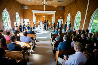 Allison and Sean: Fairfax County Wedding at Wakefield Chapel with reception in McLean, Va. - June 14, 2014. Photography by Vita Images - vitaimages.com