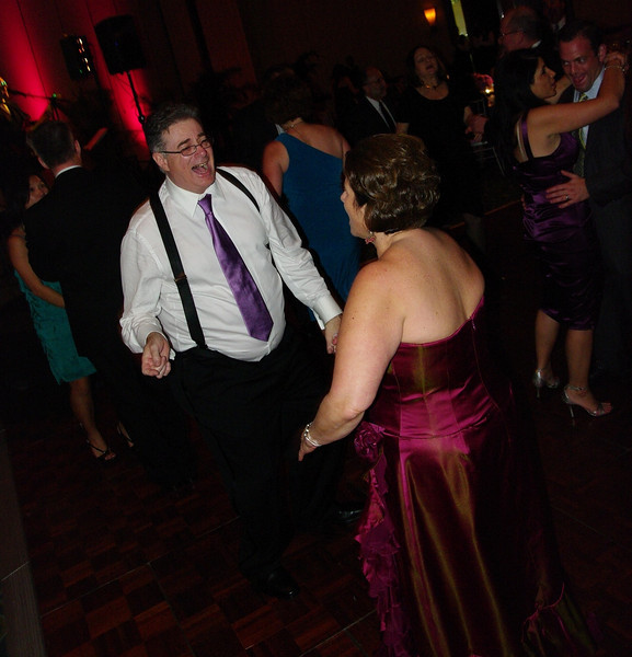Allison's mom & dad dancing