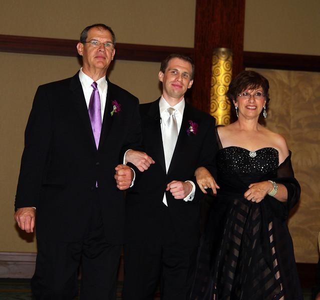 Alex with his parents