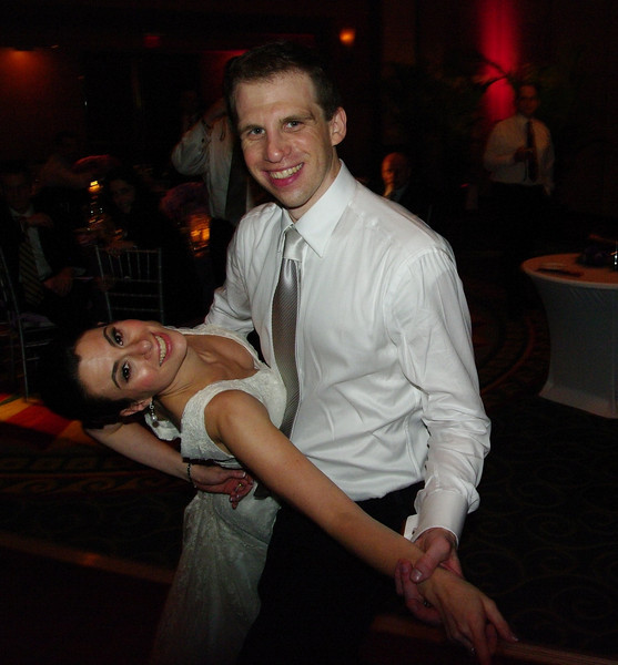 Anouther dip on the dance floor