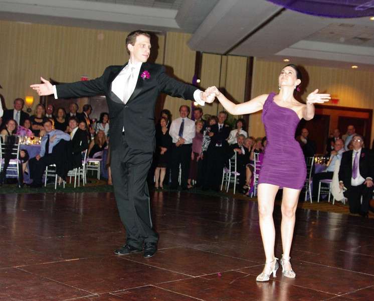 They looked phenomenal...that's what 40+ dance lessons can get you.