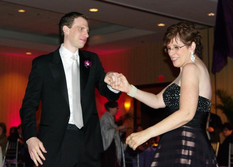 Alex & mom dancing