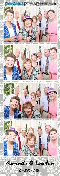 Amanda + Landon's Wedding 6-20-2015