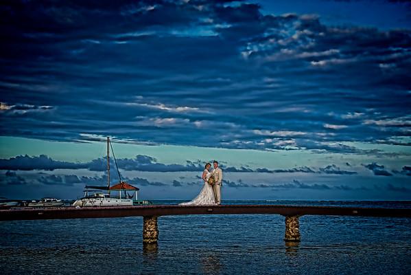 Amanda & Pete - Wedding - Belize - 5th of March 2016