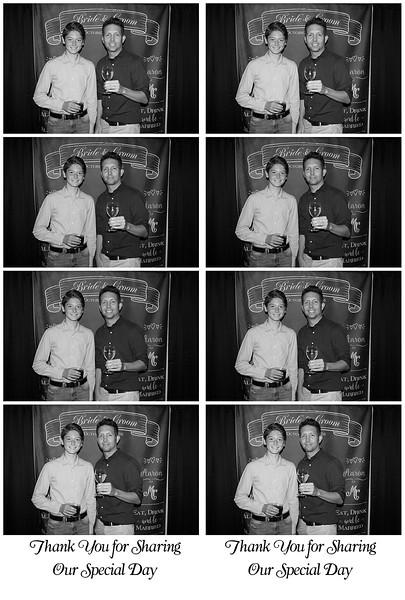 Amanda and Aaron Photo Booth