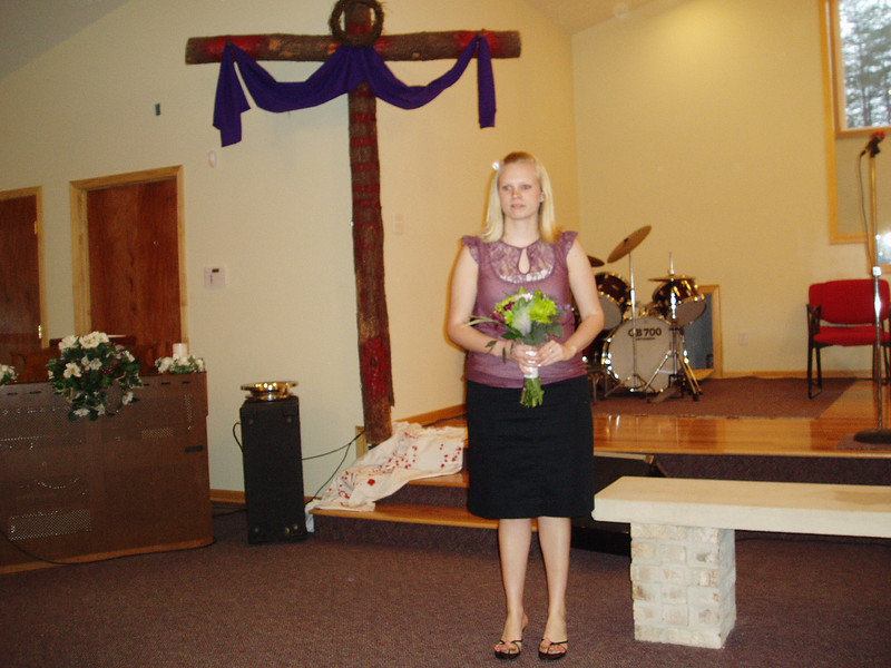 Amanda & Will's wedding 4-14-07  Lauren--maid of honor
