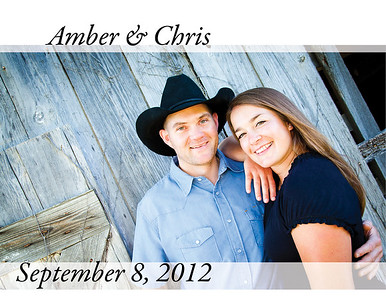 Amber & Chris SignIn Book