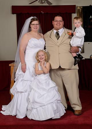 Amber & Nicks Wedding 10-4-2014