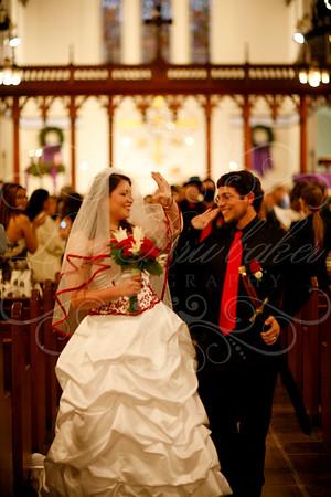 Amber and Daniel at St. Luke's Episcopal Church, Long Beach