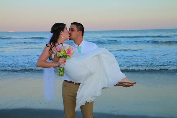Amber and Michael's Cocoa Beach Wedding!