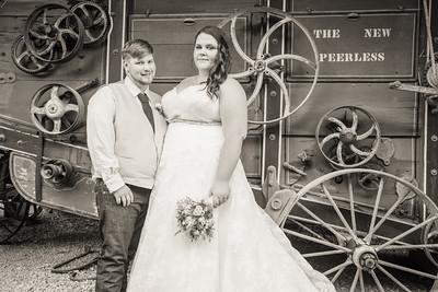 Heritage Farm Wedding - Amber-n-Peter portraits