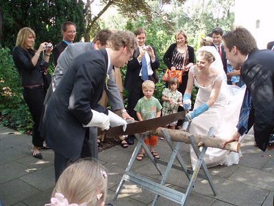 Amy and Holger's wedding