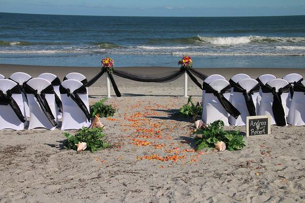 Andrea and Robert's Wedding on Cocoa Beach!