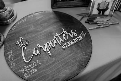 01702©ADHPhotography2020--AndrewLaurenCarpenter--Wedding--JULY18bw