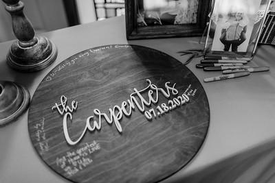 01701©ADHPhotography2020--AndrewLaurenCarpenter--Wedding--JULY18bw