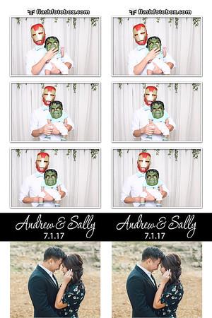 Andrew & Sally Wedding - July 1, 2017