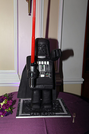 Groom's Cake, Star Wars Editon.