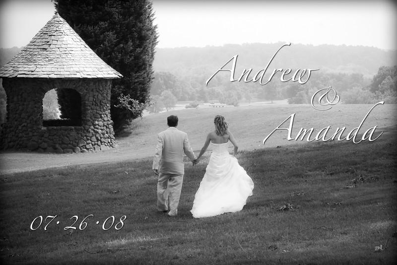 Andrew and Amanda Wedding.