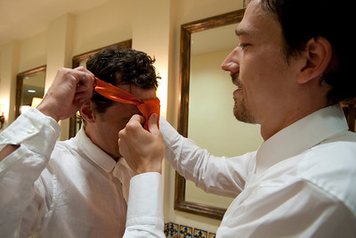 CABO SAN LUCAS, MEXICO — Ange Billman and Andrej Maihorn's wedding preparations at the Cabo del Sol Golf Resort Clubhouse. Photo taken by Tom Sorensen, Saturday June 6th, 2009.