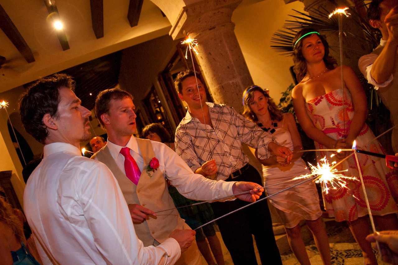 CABO SAN LUCAS, MEXICO — Ange Billman and Andrej Maihorn's wedding reception at the Cabo del Sol Golf Resort. Photo taken by Tom Sorensen, Saturday June 6th, 2009.