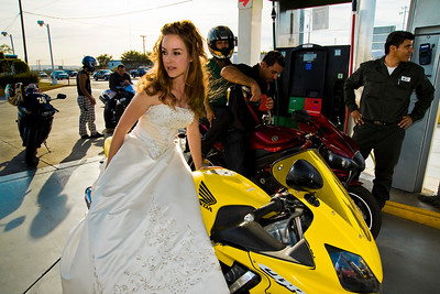 CABO SAN LUCAS, MEXICO — Ange Billman and Andrej Maihorn's Trash The Dress wedding shoot. Photo taken by Tom Sorensen, Sunday June 7th, 2009.