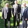 Best Man Al, Groom Steve, Marriage Commissioner Mike