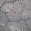 A close-up of Steve's walkway, with its carefully sculpted stones.