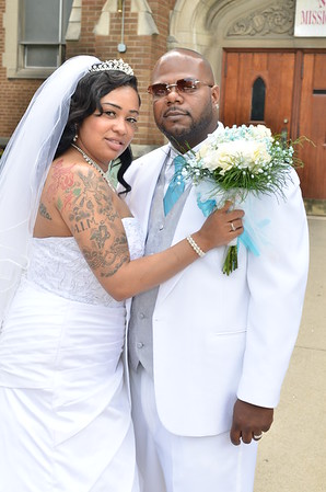 Angel and Kahron Steward Wedding 2014