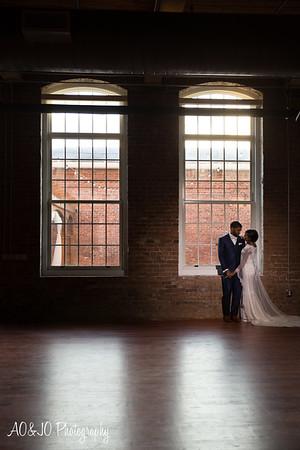 Angela & Brandon's Wedding :: The Cloth Mill :: AO&JO Photography (Raleigh Wedding Photographer)