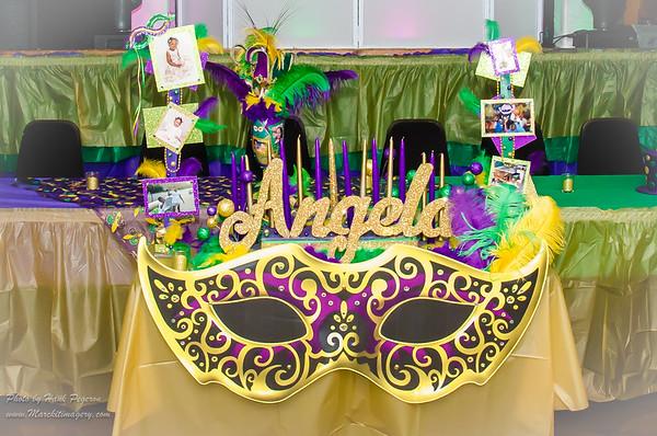 Angela Jenkins Sweet Sixteen Party