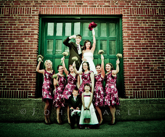 brides maids at Rockford Prairie Street Brewhouse