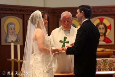 Dermot and Angie saying their vows - Atlanta, GA ... April 14, 2012 ... Photo by Rob Page III