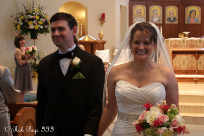 Congratulations Dermot and Angie - Atlanta, GA ... April 14, 2012 ... Photo by Rob Page III