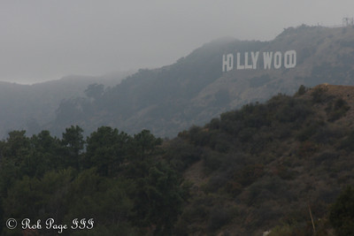 The Hollywood hills - Hollywood, CA ... March 16, 2012 ... Photo by Rob Page III