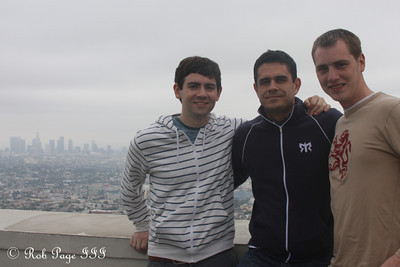 The guys and LA - Hollywood, CA ... March 16, 2012