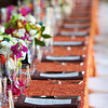 Long table settings