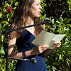 Jen gives a speech