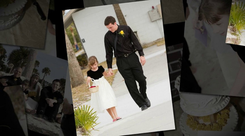 Anne & Stan<br /> Digital Wedding Album - Collage Style<br /> Version Two