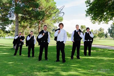 Anna & Brent's formal photos at The Omni Golf Resort, Tucson Arizona