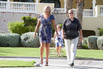 Anna & Brent's getting ready photos at The Omni Golf Resort, Tucson Arizona